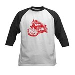 Norton Cafe Racer Kids Baseball Jersey