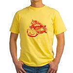 Norton Cafe Racer Yellow T-Shirt