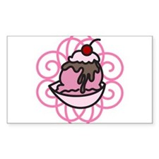 Ice Cream Sundae Decal