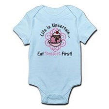Eat Dessert First Infant Bodysuit