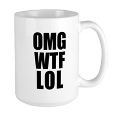 OMG WTF LOL Mug