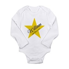 Personalized Star - Babys name and birth date Long