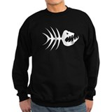 Fish Bones Skeleton Sweatshirt