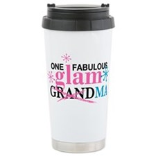 Glam Grandma Ceramic Travel Mug