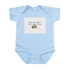 Rub My Balls for Luck Infant Bodysuit