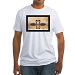 Love Swans Fitted T-Shirt