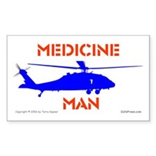 Medicine Man: HH60 Rectangle Decal