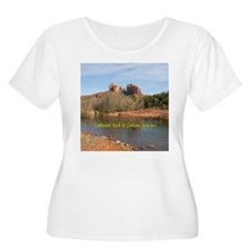 Cathedral Rock Plus Size Scoop Neck T-Shirt