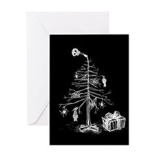 gothic-xmas-tree-c.jpg Greeting Card