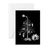 gothic-xmas-tree-c.jpg Greeting Cards (Pk of 10)