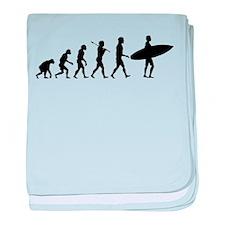 Surf Evolve baby blanket