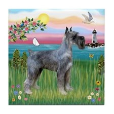 LighthousePS Giant Schnauzer Tile Coaster