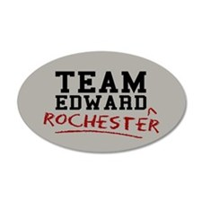Team Edward Rochester Wall Decal