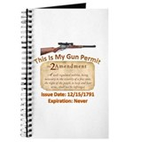 My Gun Permit Journal