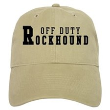 Off Duty Rockhound Baseball Cap