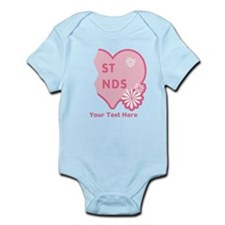 CUSTOM TEXT Best Friends (right half) Infant Bodys