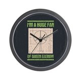Huge Fan Wall Clock
