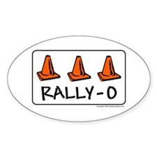 Rally-O Oval Decal