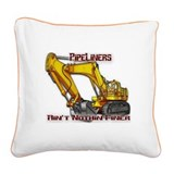 Pipeliners Square Canvas Pillow