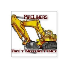 "Pipeliners Square Sticker 3"" x 3"""