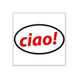 Ciao! Italian Sticker