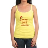 Dear Santa Ladies Top