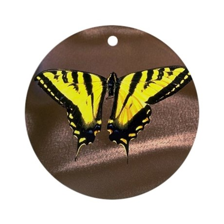 Western Tiger Swallowtail (8) Ornament (Round)