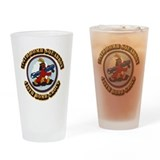 Womens army corp Pint Glasses
