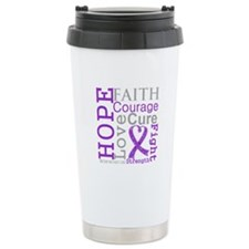 Hope Courage Alzheimers Ceramic Travel Mug