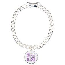 Hope Courage Alzheimers Bracelet