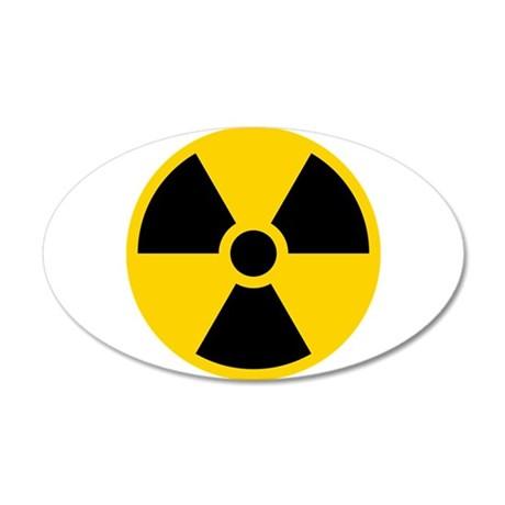 Nukes 20x12 Oval Wall Decal