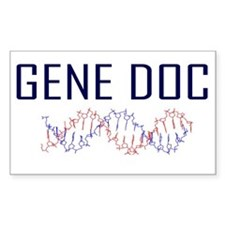 Geneticist Rectangle Decal
