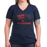 Girl Loves Her Husband Shirt