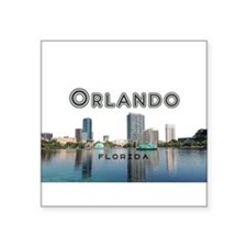 "Orlando Square Sticker 3"" x 3"""