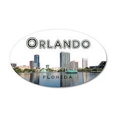 Orlando 35x21 Oval Wall Decal