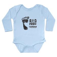 BIGFOOT/SASQUATCH I BELIEVE Long Sleeve Infant Bod