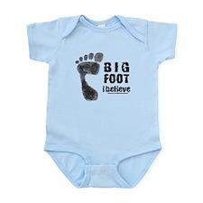 BIGFOOT/SASQUATCH I BELIEVE Infant Bodysuit