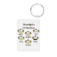 Custom kids monkeys Keychains