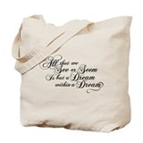 dream-within-a dream_bl.png Tote Bag