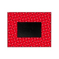 Red Confetti Picture Frame