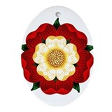 tudor-rose2.png Ornament (Oval)