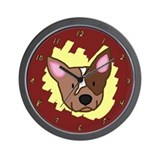 Love Red Heeler Clock