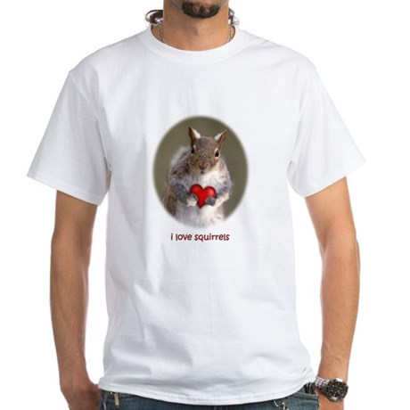 I love squirrels - T-Shirt