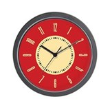 retro-red-plain_cl.png Wall Clock