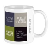 Unique Running thoughts Mug