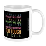 Running thoughts Mug