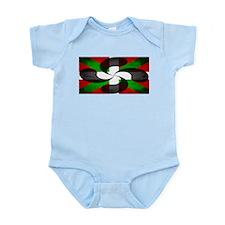Basque Flag and Cross Infant Bodysuit