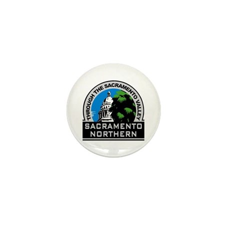 Sacramento Northern Mini Button