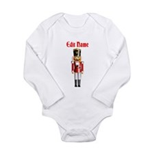 Nutcracker Long Sleeve Infant Bodysuit