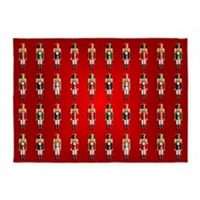 Nutcrackers 5'x7'Area Rug